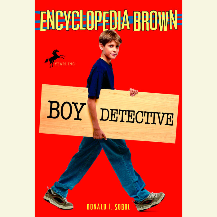 Encyclopedia Brown, Boy Detective Cover