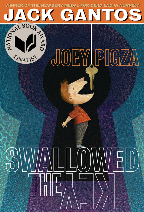 Joey Pigza Swallowed the Key Cover