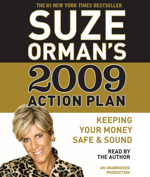 Suze Orman's 2009 Action Plan Cover