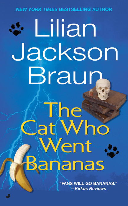 Cat Who Went Bananas Cover