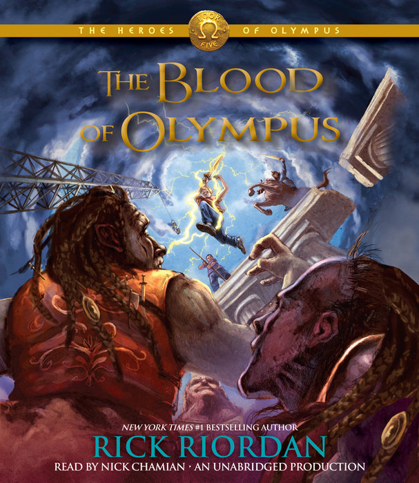 The Heroes of Olympus, Book Five: The Blood of Olympus Cover