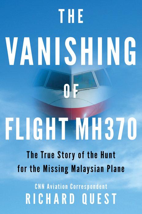 The Vanishing of Flight MH370 Cover