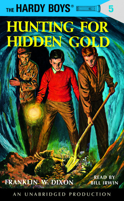 Book Cover for Hunting for Gold, A Hardy Boy's adventure