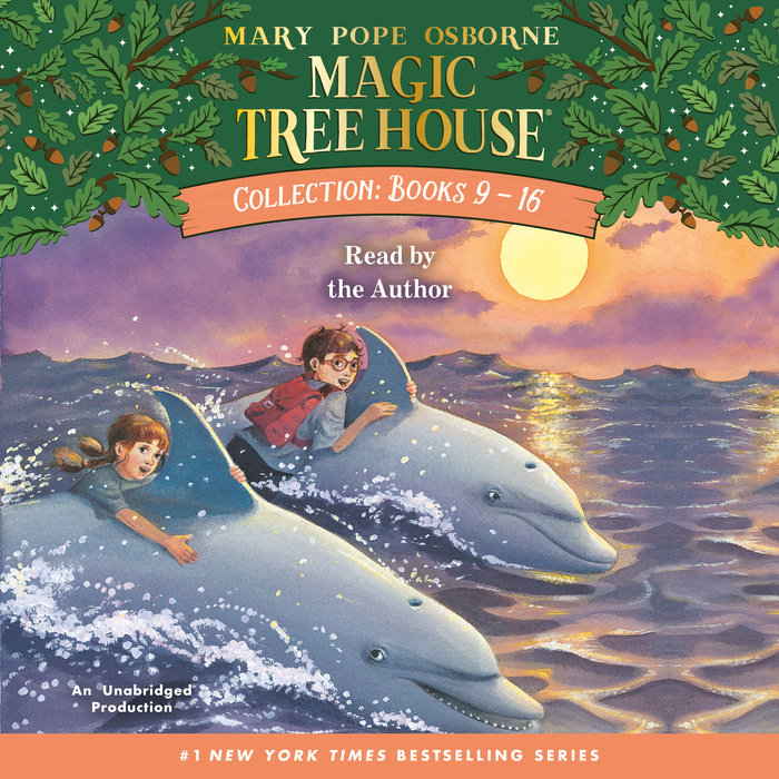 Magic Tree House Collection Books 9 16 By Mary Pope Osborne