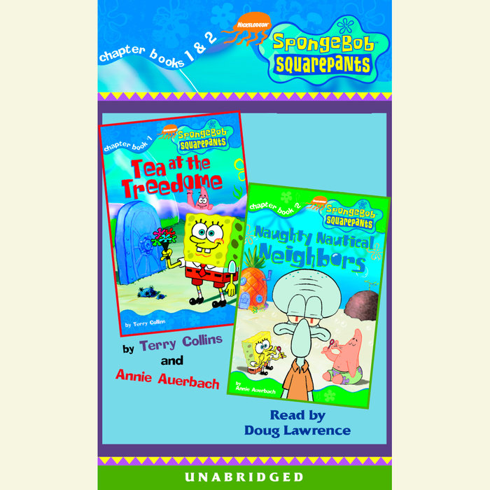 SpongeBob Squarepants: Books 1 & 2 Cover