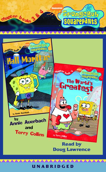 SpongeBob Squarepants: Chapter Books 3 & 4 Cover