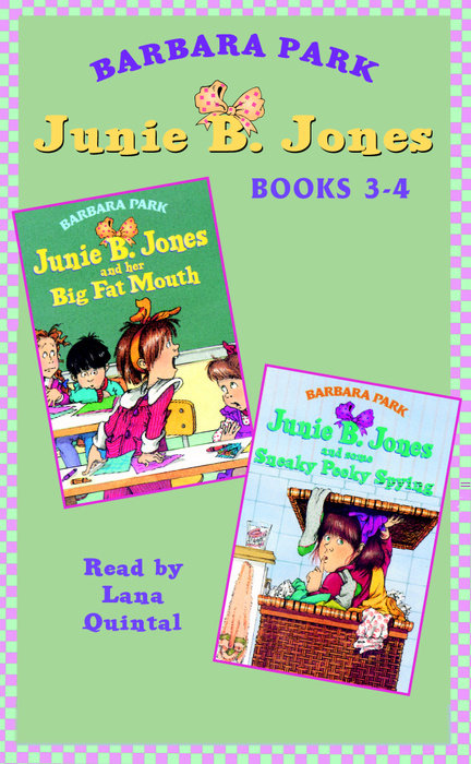 Junie B. Jones: Books 3-4 Cover