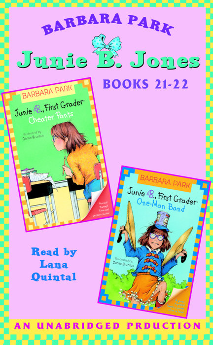 Junie B. Jones: Books 21-22 Cover