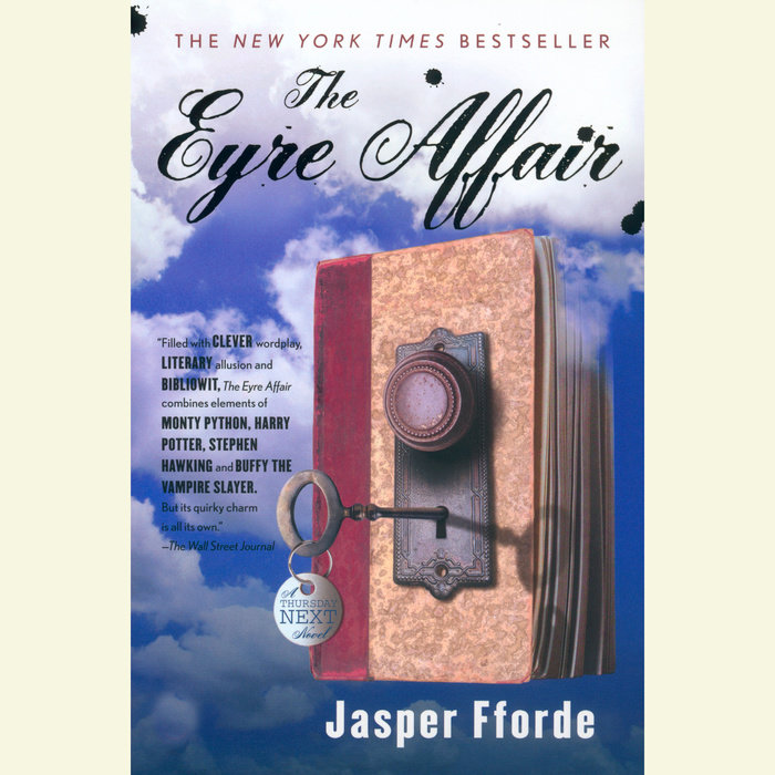 The Eyre Affair Cover