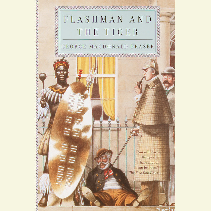 Flashman and the Tiger Cover