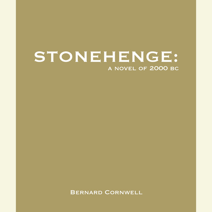 Stonehenge: A Novel of 2000 BC Cover