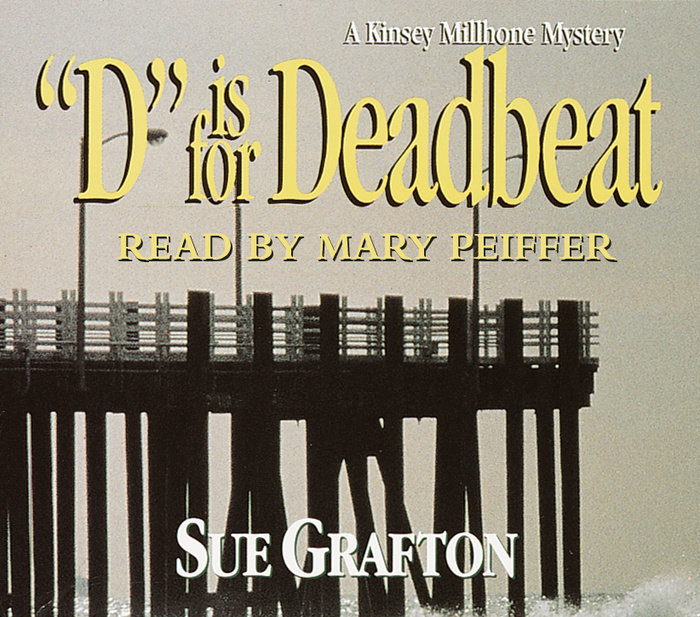 D Is for Deadbeat Cover
