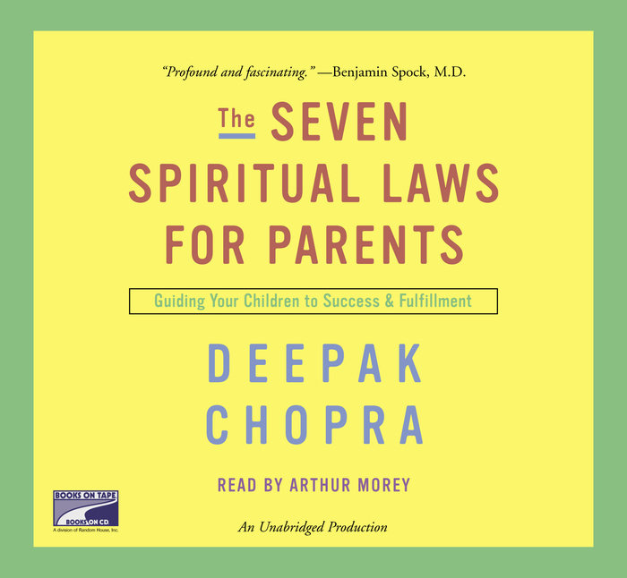 The Seven Spiritual Laws for Parents Cover