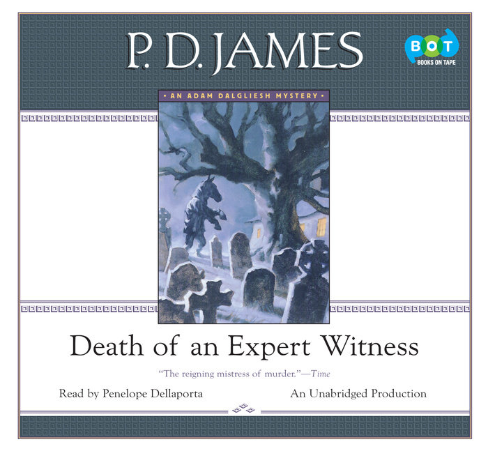 Death of an Expert Witness Cover