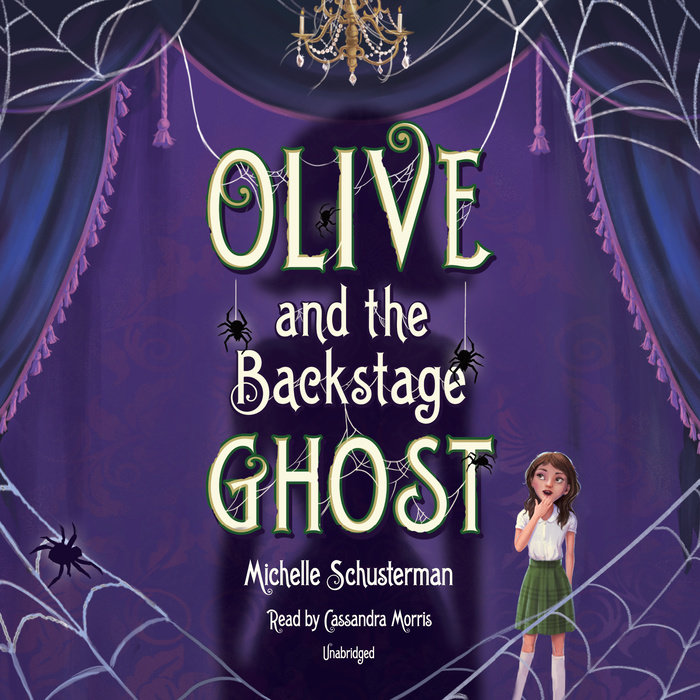 Olive and the Backstage Ghost Cover