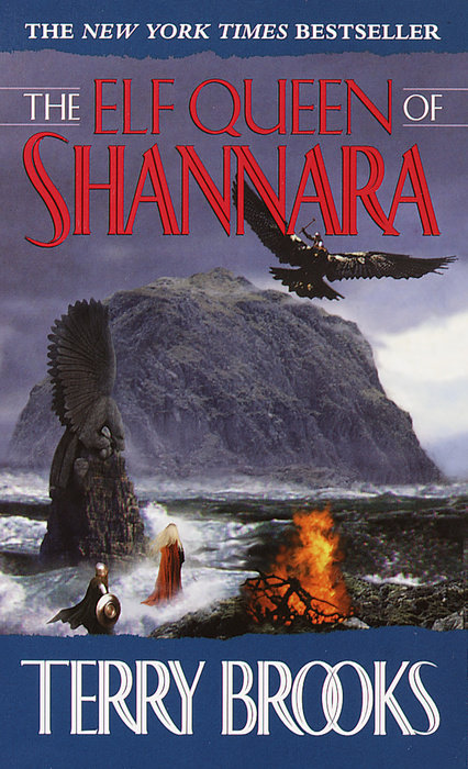 The Elf Queen of Shannara Cover
