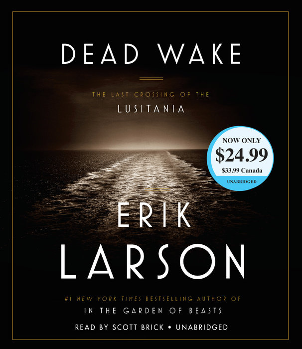 Dead Wake Cover
