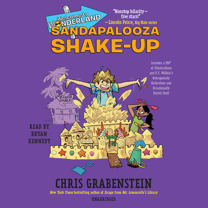 Welcome to Wonderland #3: Sandapalooza Shake-Up Cover