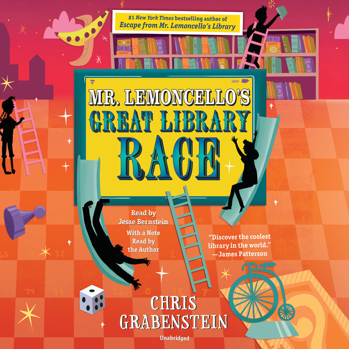 Mr. Lemoncello's Great Library Race Cover