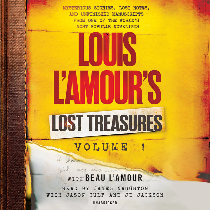 Louis L'Amour's Lost Treasures: Volume 1 Cover