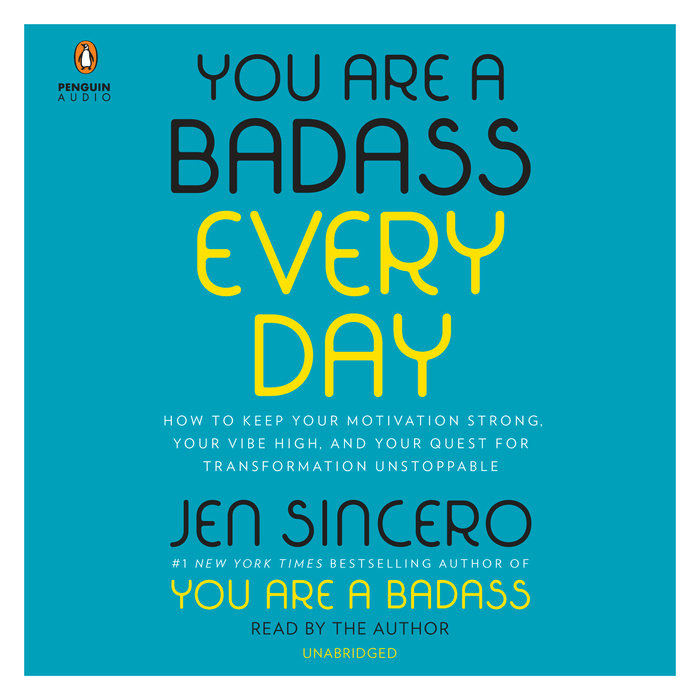 You Are a Badass Every Day Cover