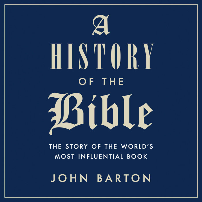 A History of the Bible Cover