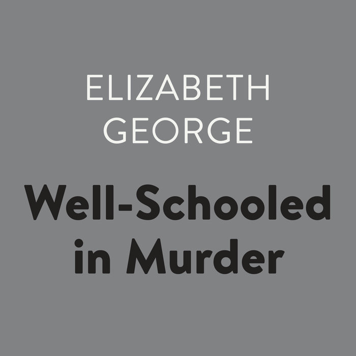 Well Schooled in Murder Cover