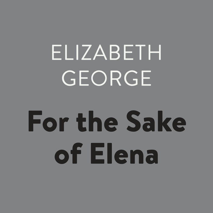 For the Sake of Elena Cover