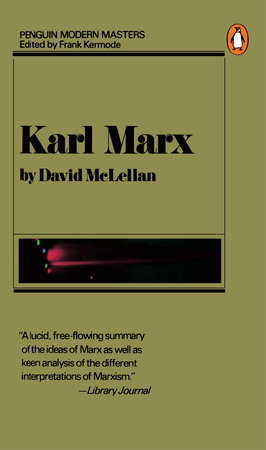 Karl Marx by David McLellan
