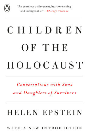 Children of the Holocaust by Helen Epstein
