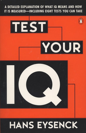 Test Your IQ by Hans J. Eysenck and Darrin Evans
