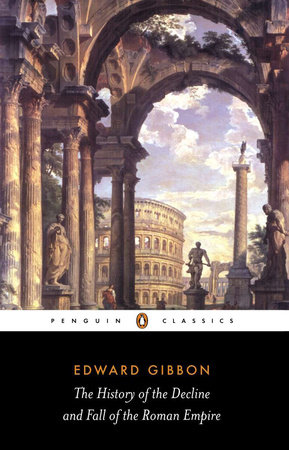 The History of the Decline and Fall of the Roman Empire Book Cover Picture