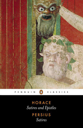 The Satires of Horace and Persius by Horace and Persius