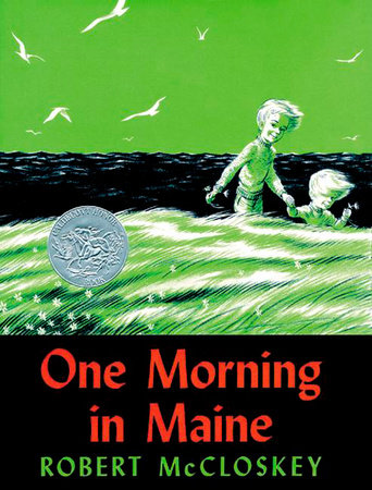The cover of the book One Morning in Maine