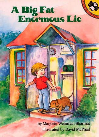 A Big Fat Enormous Lie by Marjorie Weinman Sharmat
