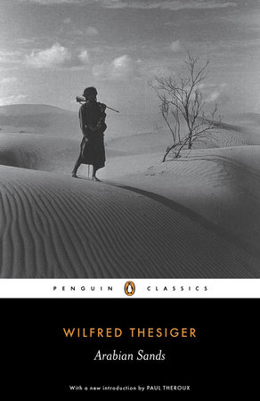 The cover of the book Arabian Sands