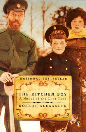 The Kitchen Boy Book Cover Picture