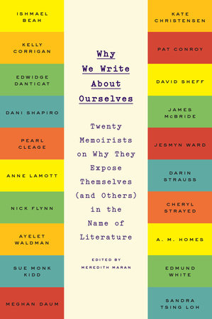 Why We Write About Ourselves Book Cover Picture