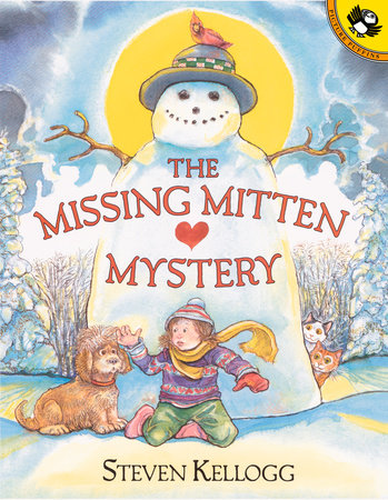 The Missing Mitten Mystery by Steven Kellogg