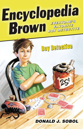 The cover of the book Encyclopedia Brown, Boy Detective