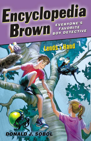 Encyclopedia Brown Lends a Hand by Donald J. Sobol
