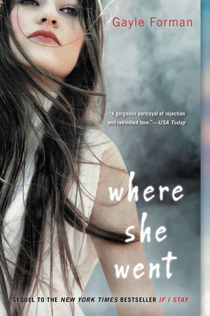 Where She Went Book Cover Picture