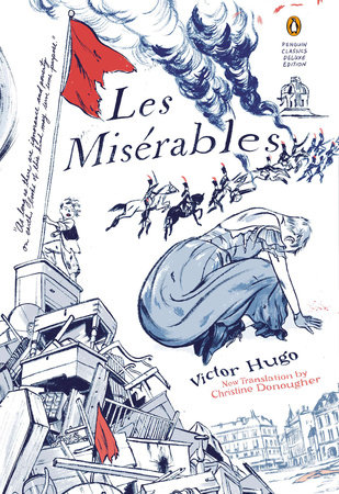 The cover of the book Les Miserables