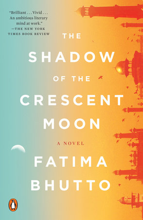 The cover of the book The Shadow of the Crescent Moon