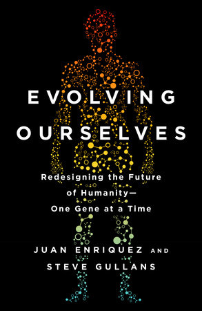The cover of the book Evolving Ourselves