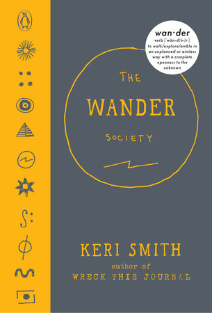 The cover of the book The Wander Society