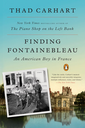 Finding Fontainebleau Book Cover Picture