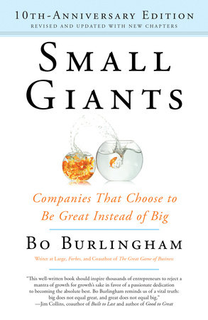 Small Giants by Bo Burlingham