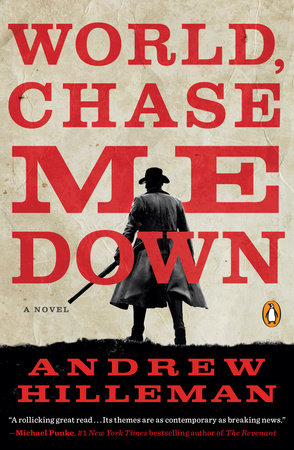 World, Chase Me Down Book Cover Picture