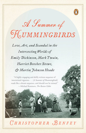 A Summer of Hummingbirds by Christopher Benfey